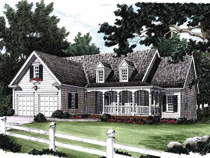 Eplans Country House Plan Cozy Country