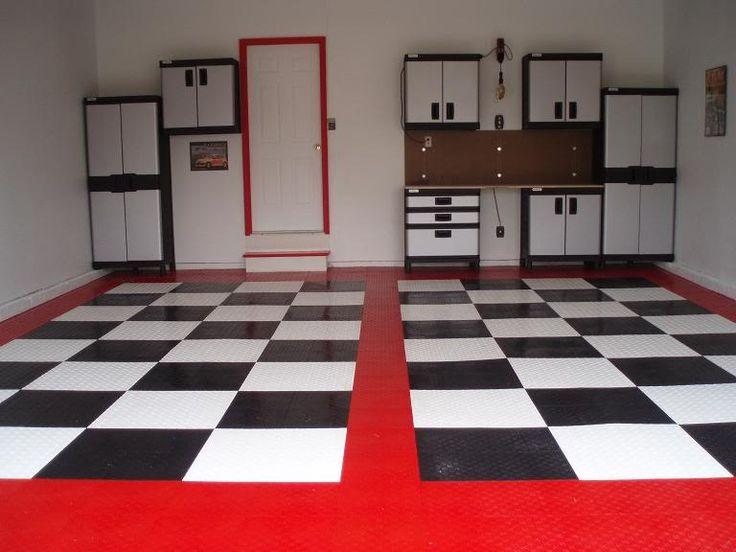 Garage floor idea man cave ideas pinterest floors for Man cave garage floor ideas