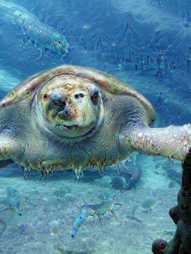 Majestic sea creature