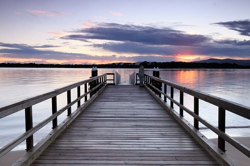 Sunrise at Port Sorell jetty