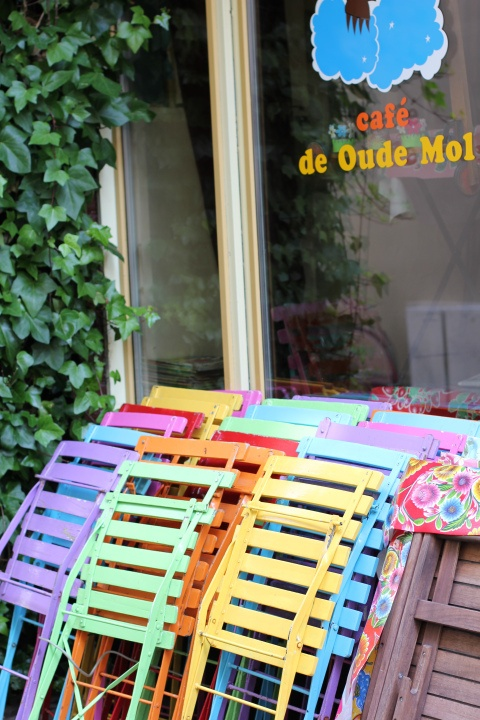 Café de oude mol, The Hague, Netherlands