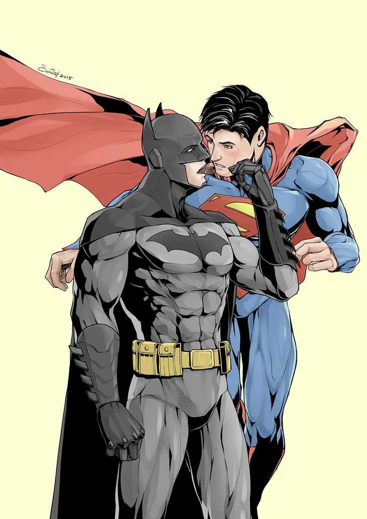 from Alfred gay batman and superman