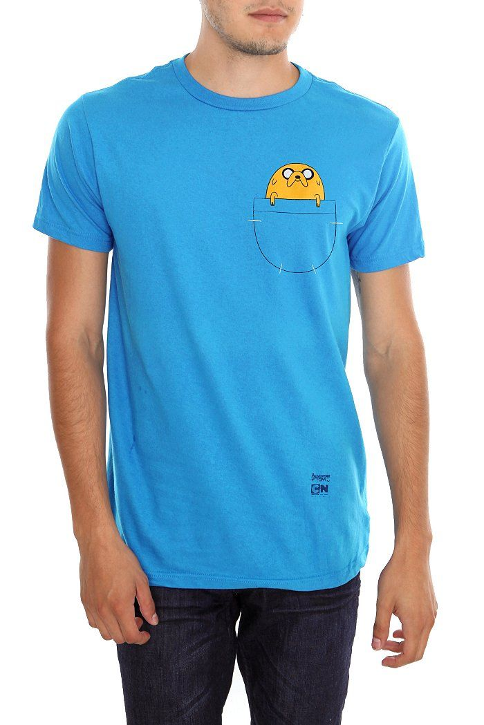 New Arrivals | Hot Topic-Adventure Time Jake in the pocket tee