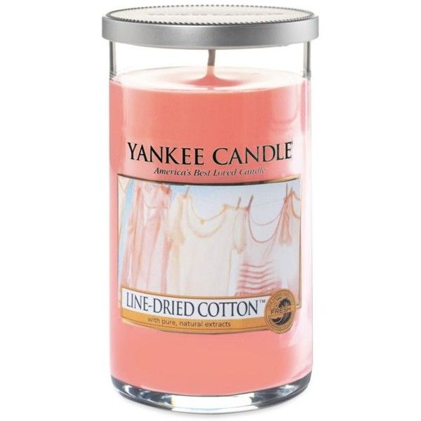 Yankee Candle Coral Line Dried Cotton Pillar 15 liked