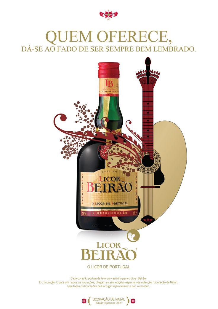 #licorbeirao #licordeportugal #portugal #publicidade #fado #natal #guitarra