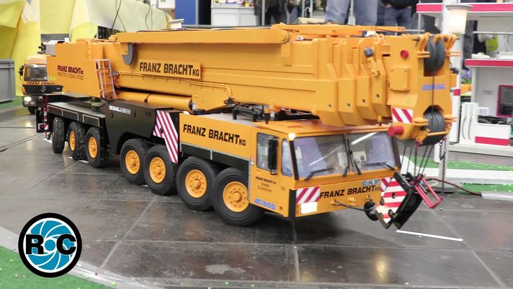 RC mobil crane Demag AC 300 Franz Bracht AMAZING RC MODEL - Intermodellb...