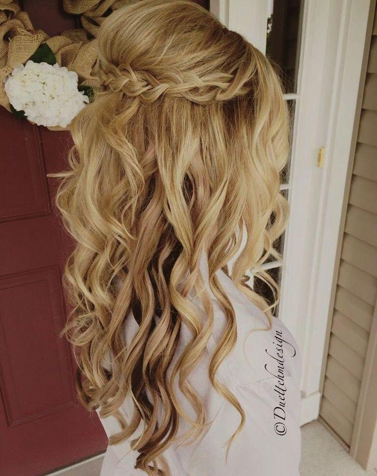 Wedding Juda Hairstyles Simple Wedding Hairstyles For Bridesmaids #Weddinghairstyles | Wedding ...