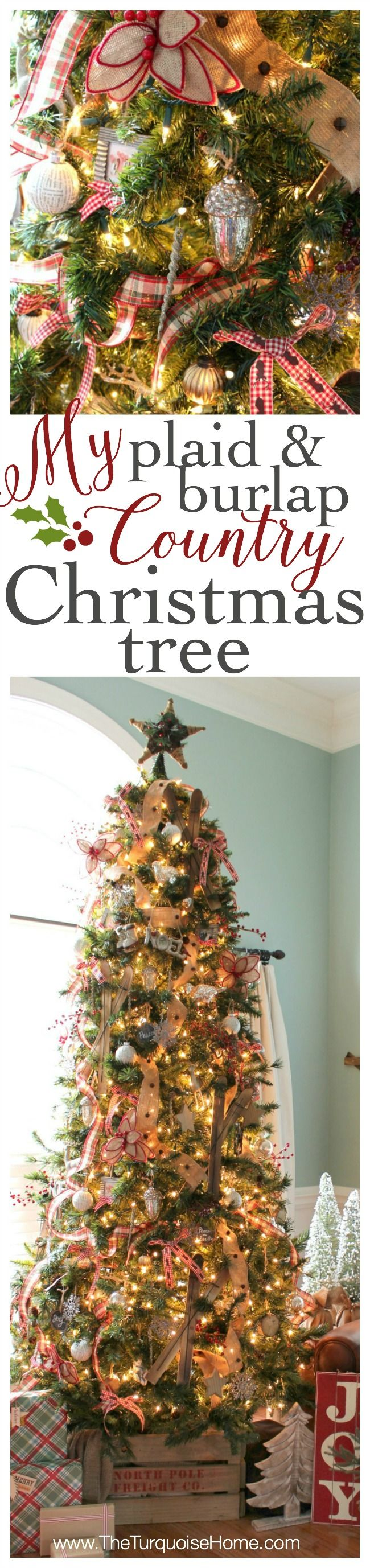 Christmas tree elegantly 12 stepshow to decorate a christmas tree - 309 Best Holiday Christmas Trees Images On Pinterest Merry Christmas Christmas Time And Christmas Crafts