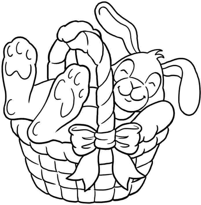 bunny coloring pages for girls - photo#25