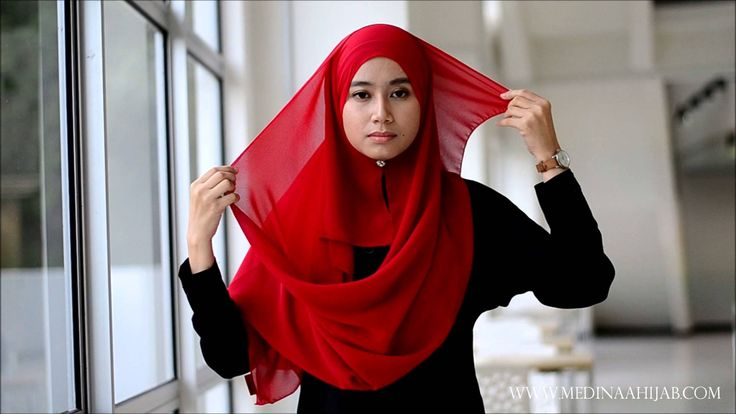 Wide Shawl Tutorial by Medinaa Hijab #1