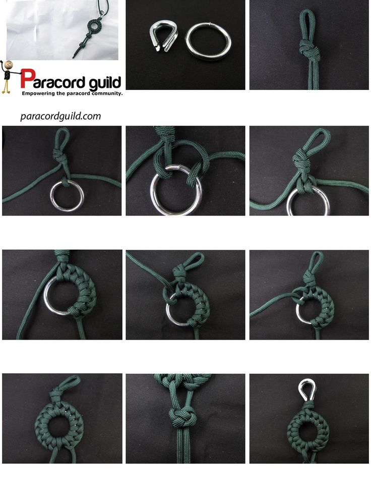 How to make a wheel paracord pendant - Paracord guild