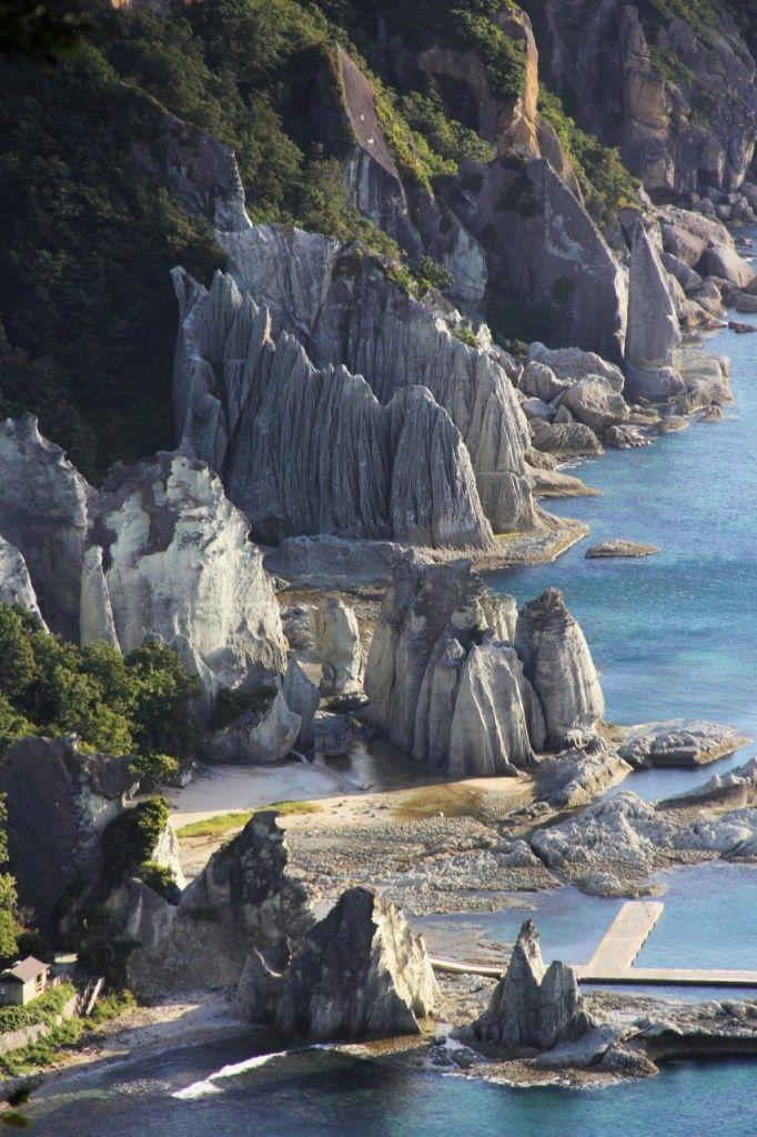 仏ヶ浦 Hotoke-ga-ura, Shimokita, Aomori, Japan