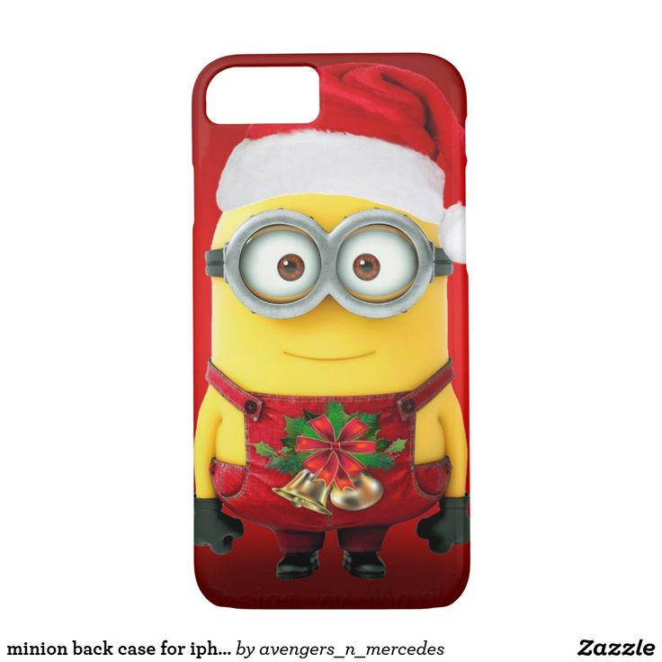 minion back case for iphone 7