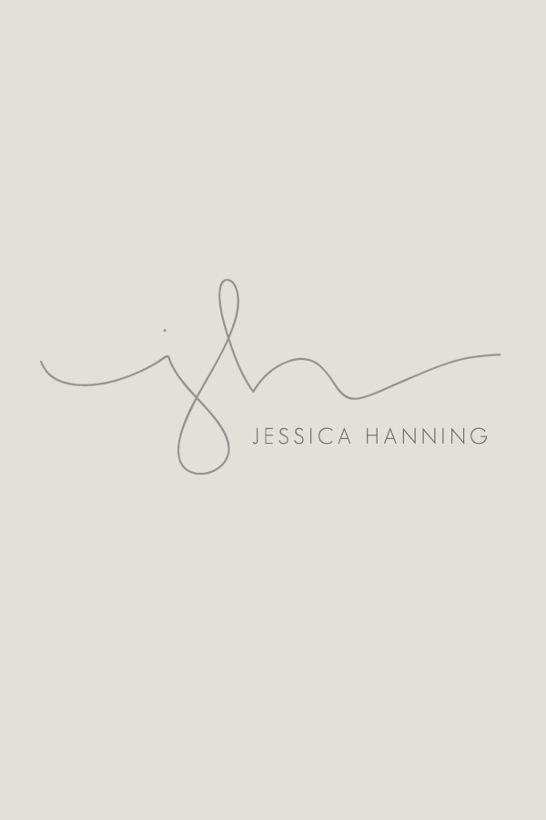 Handdrawn initials for photographers | Simple Sally Designs