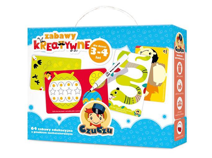 Zabawy kreatywne dla dzieci w wieku 3-4 lat Sklep CzuCzu.pl