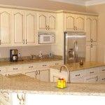 Cream Colored Kitchen Cabinet Designs (1)
