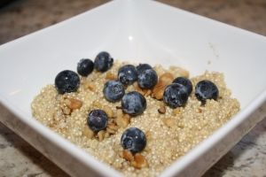 Breakfast Quinoa (more protein than oatmeal!)