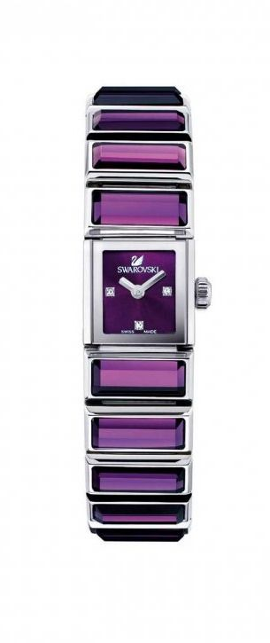 Amethyst watch by Swarovski, HT