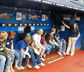 Turner Field Dugout