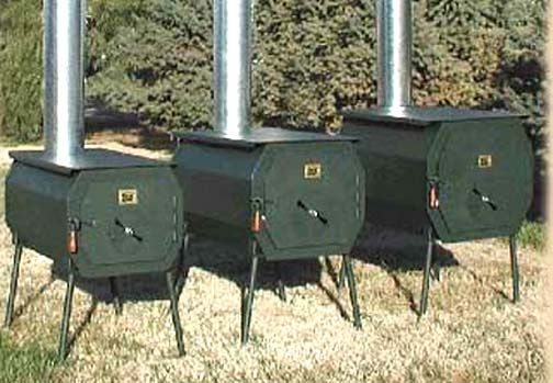 Tent camp stoves