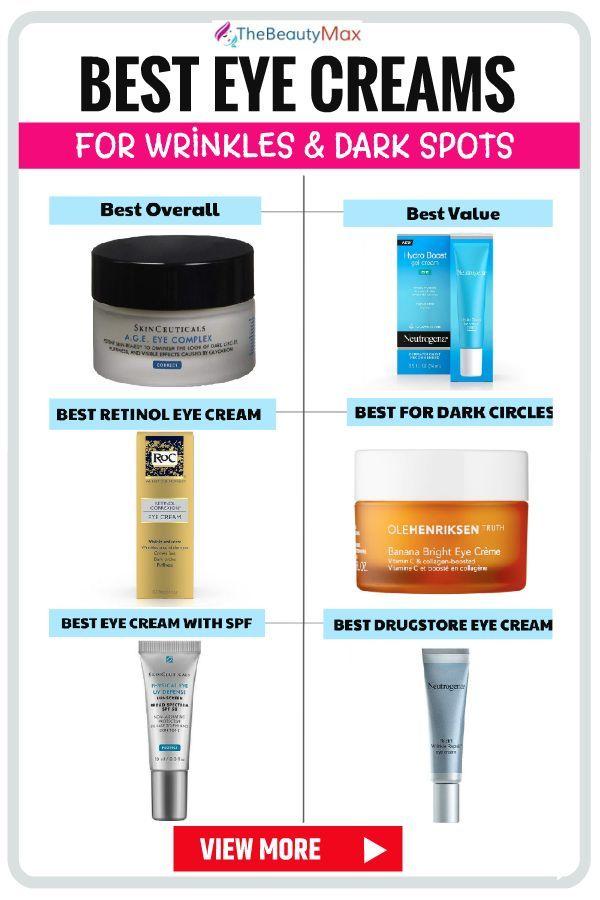 The Best Eye Creams To Get Rid Of Wrinkles Under Eyes Best Eye