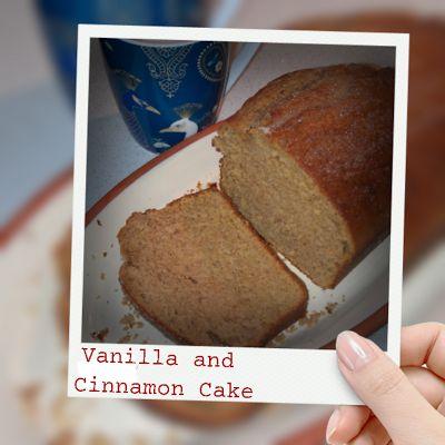 Vanilla and Cinnamon Cake - thermo cooker recipe  [BIKM]