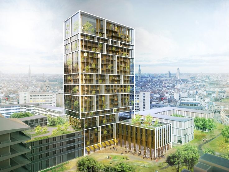 C.F. Møller Chosen to Design Antwerp Residential Tower