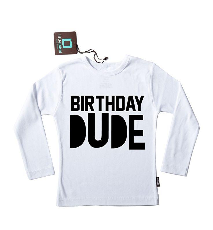 Pimp-Studio | Strijkapplicatie Birthday Dude