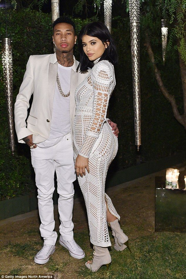 It's over: Tyga and Kylie Jenner (pictured last month) have reportedly split with claims h...