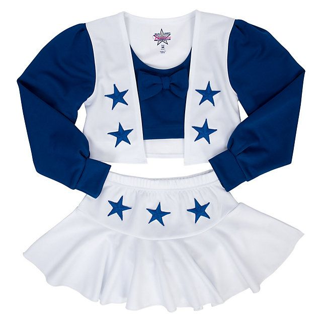 Dallas Cowboys Cheerleader Girls Cheer Uniform