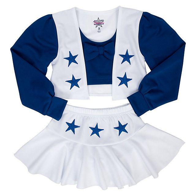 Dallas Cowboys Cheerleader Girls Cheer Uniform