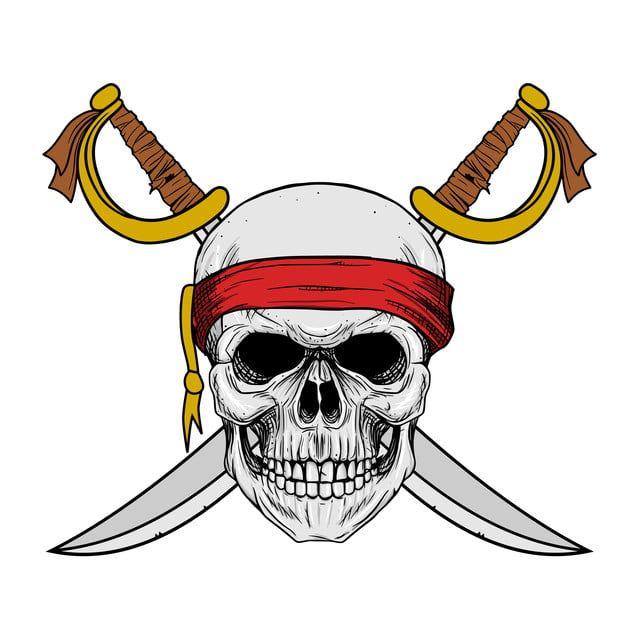 Pirata Teschio Con Bandana Rossa E Croce Spada Disegno A Mano Teschio Arte Sfondo Penna Png E Vector Per Il Download Gratuito How To Draw Hands Red Bandana Skulls Drawing