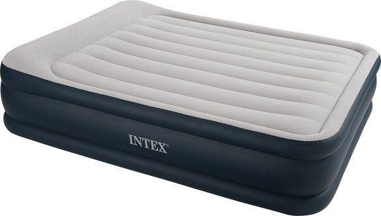 Intex Pillow Rest Queen - Luchtbed - 2P - 203x152x43 cm