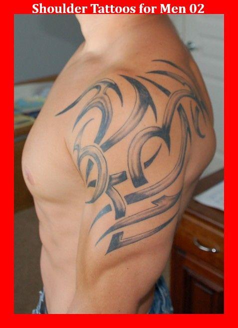 Shoulder Tattoos for Men 02
