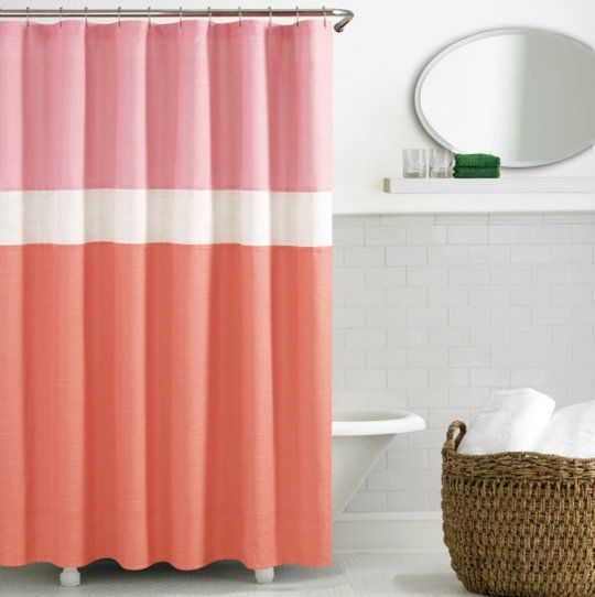 Can I make a curtain like this for Violet's Room???  Love the colors...