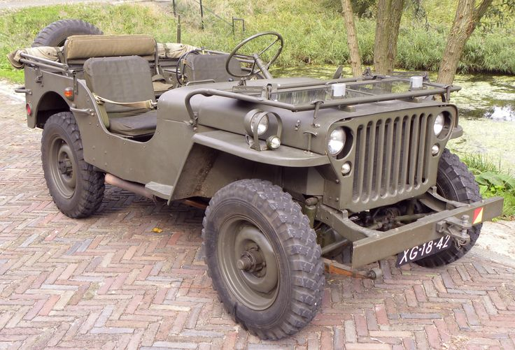 1943 Willys Jeep. I want one so bad