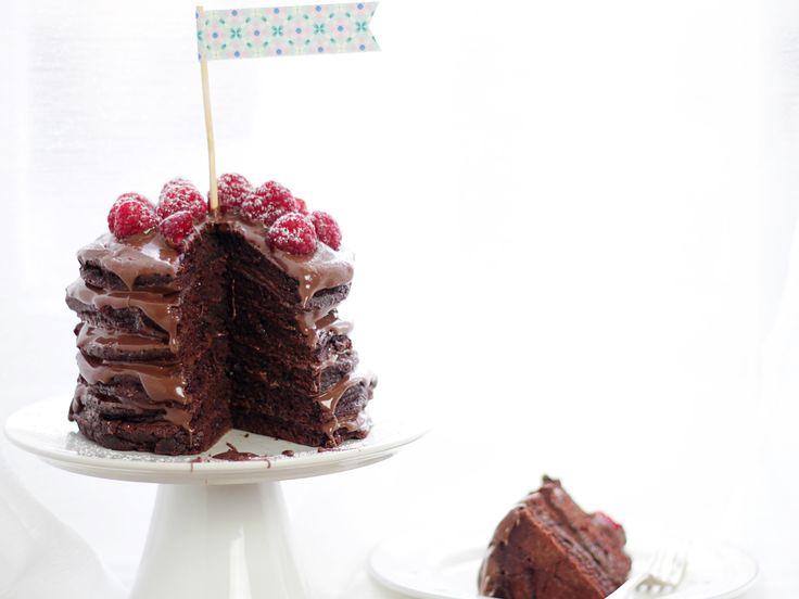 Chokladpannkakor med nutella | Köket.se