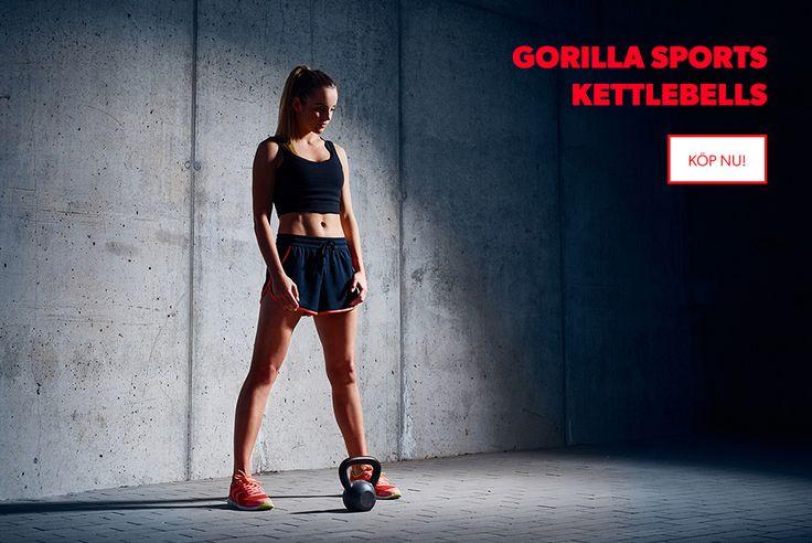 Kettlebells från GorillaSports   #gorillasportssweden #hemmaträning #tränahemma #gymmahemma #kettlebells #sverige #köp #ehandel #muskler #hemmagym #sats #gymgrossisten #sportamore #dagensträningspass #bänkpress #curlstång #hantlar #frifrakt