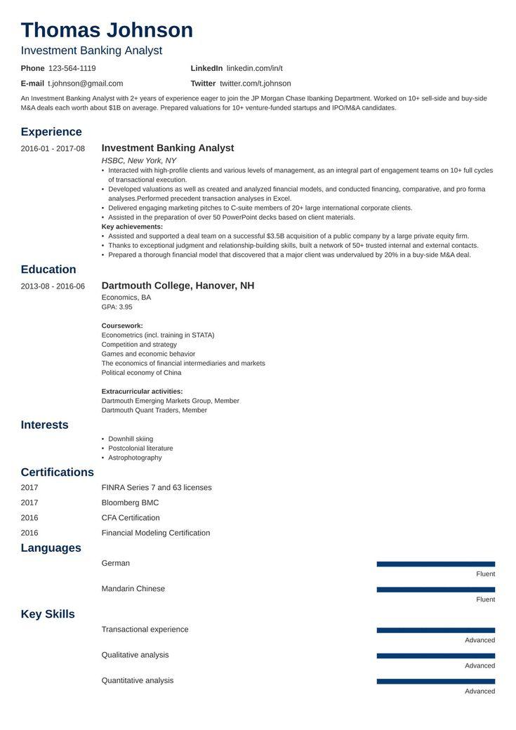 Personal banker job description for resume elegant