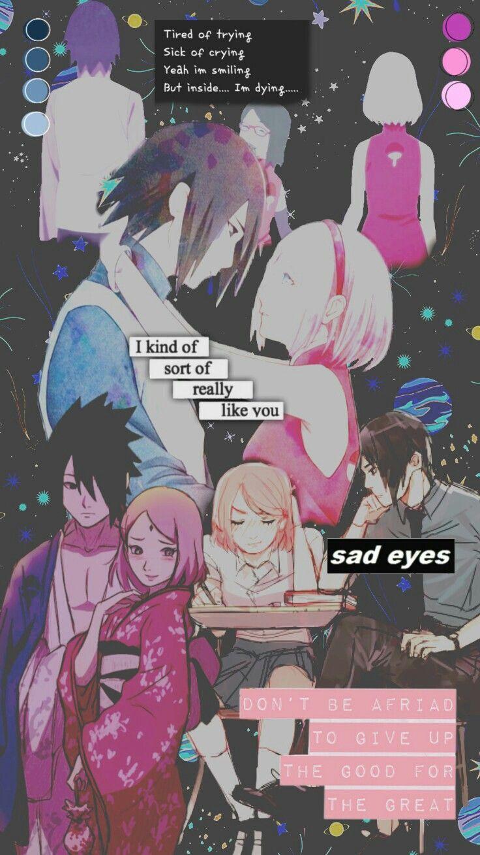 Sasusaku Aesthetic Tumblr Background Naruto Anime Naruto Naruto Personagens Sasusaku