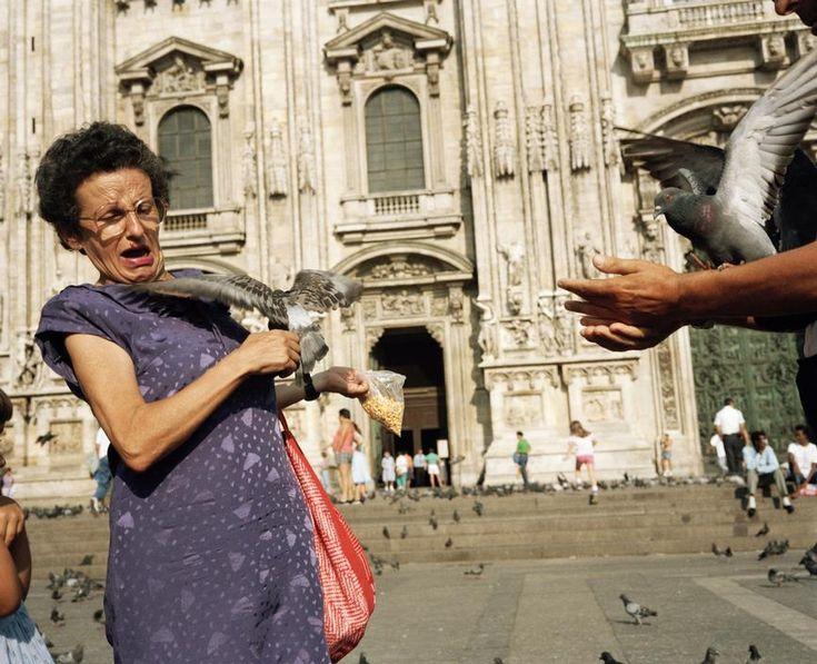 """ITALY. Milan. Duomo. 1986 Martin Parr, """"Small World"""""""