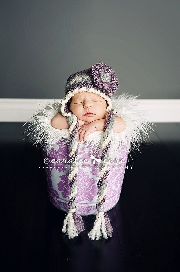 purple :)    awwww! has purple ever looked cuter??!
