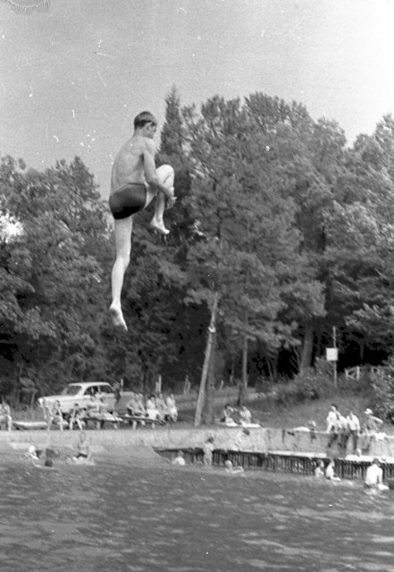 Seneca Springs Swimming Pool In The 1950 S Near Decatur