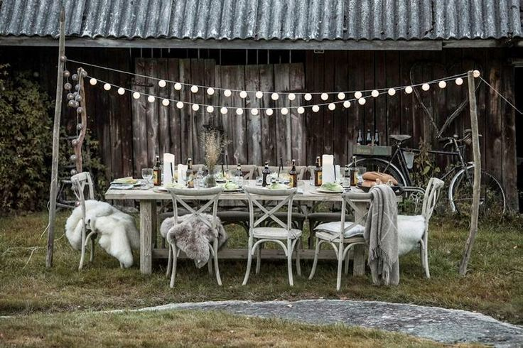 old wood, farm, outdoor party, Home and Cottage, Tinde langbord, Romi stol, furniture