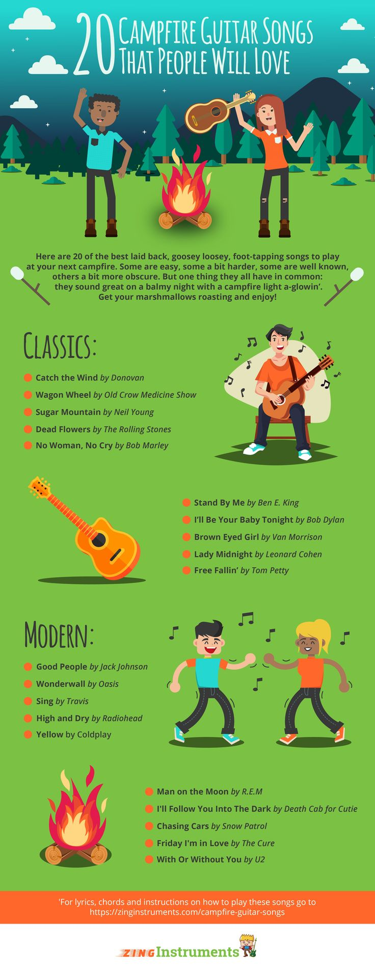 20 best campfire guitar songs images on pinterest sheet music 20 of the best guitar songs for playing around the campfire hexwebz Image collections
