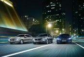 Une famille en nette différenciation par rapport à la Série 3 et qui renoue en même temps avec la meilleure tradition des grands coupés BMW Série 6 ou Série 8 et adopte des solutions aérodynamiques innovantes comme la prise d'air béante dans le bouclier avant. Des ouïes (Air Breather) situées derrière les passages de roues avant réduisent également la traînée. Le coefficient de pénétration dans l'air (cx) est de 0,28. (© BMW 2013)