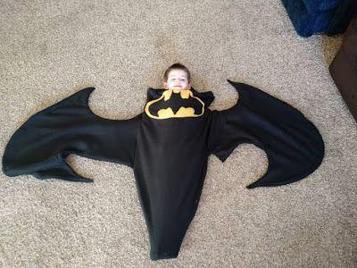 Batman Blanket  FREE sewing tutorial using our free Shark/Mermaid tail pattern!