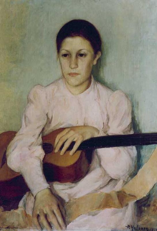 The Athenaeum - Guitar Player (Pekka Halonen - )