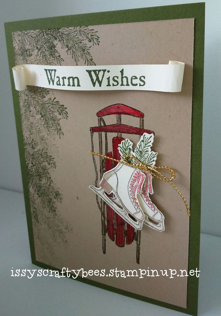 Stampin' Up! Winter Wishes