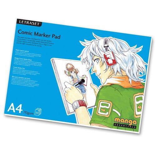 Comic Marker Pad 70g A4 Max 1 kpl - 9,95e